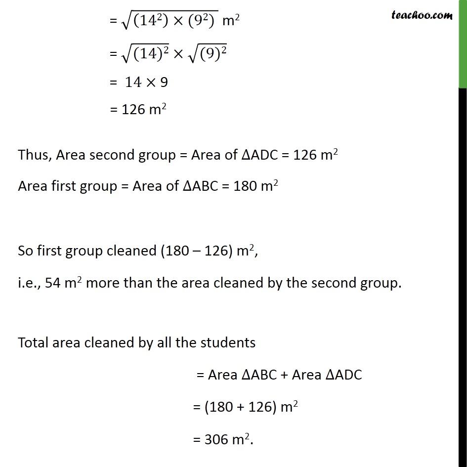 Example 5 - Chapter 12 Class 9 Herons Formula - Part 5