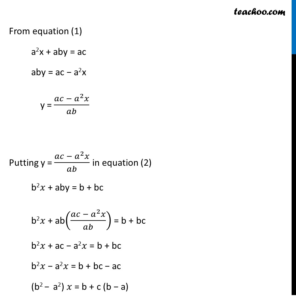 Ex 3.7, 7 (Optional) - Chapter 3 Class 10 Pair of Linear Equations in Two Variables - Part 6
