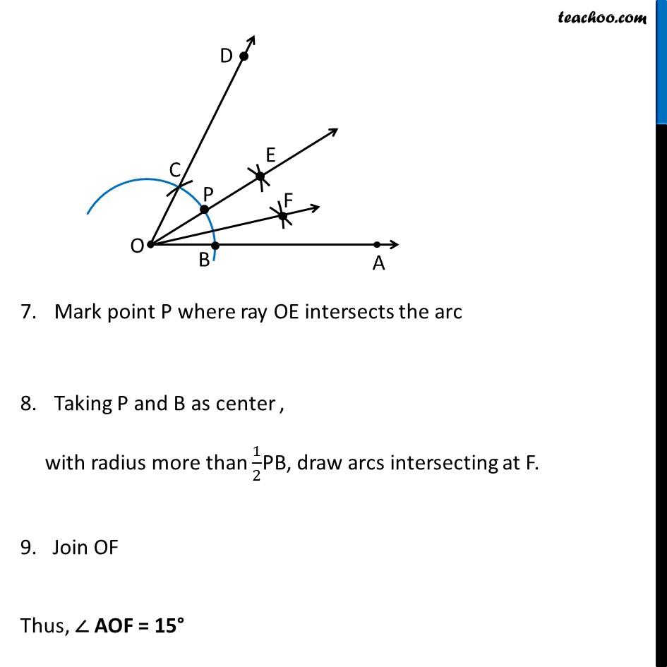 Ex 11.1, 3 (iii) - Chapter 11 Class 9 Constructions - Part 4