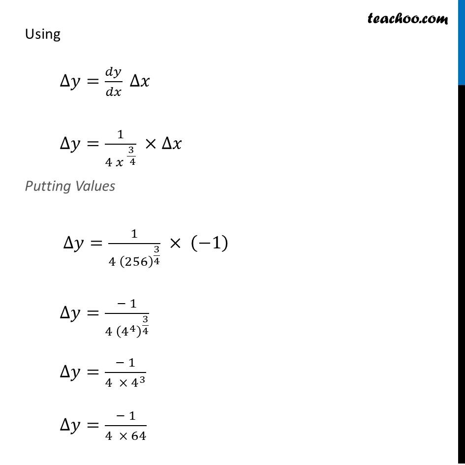 Ex 6.4, 1 (viii) - Chapter 6 Class 12 Application of Derivatives - Part 2