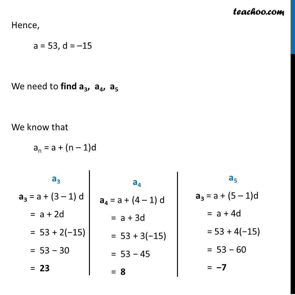 Ex 5.2, 3 - Chapter 5 Class 10 Arithmetic Progressions - Part 15