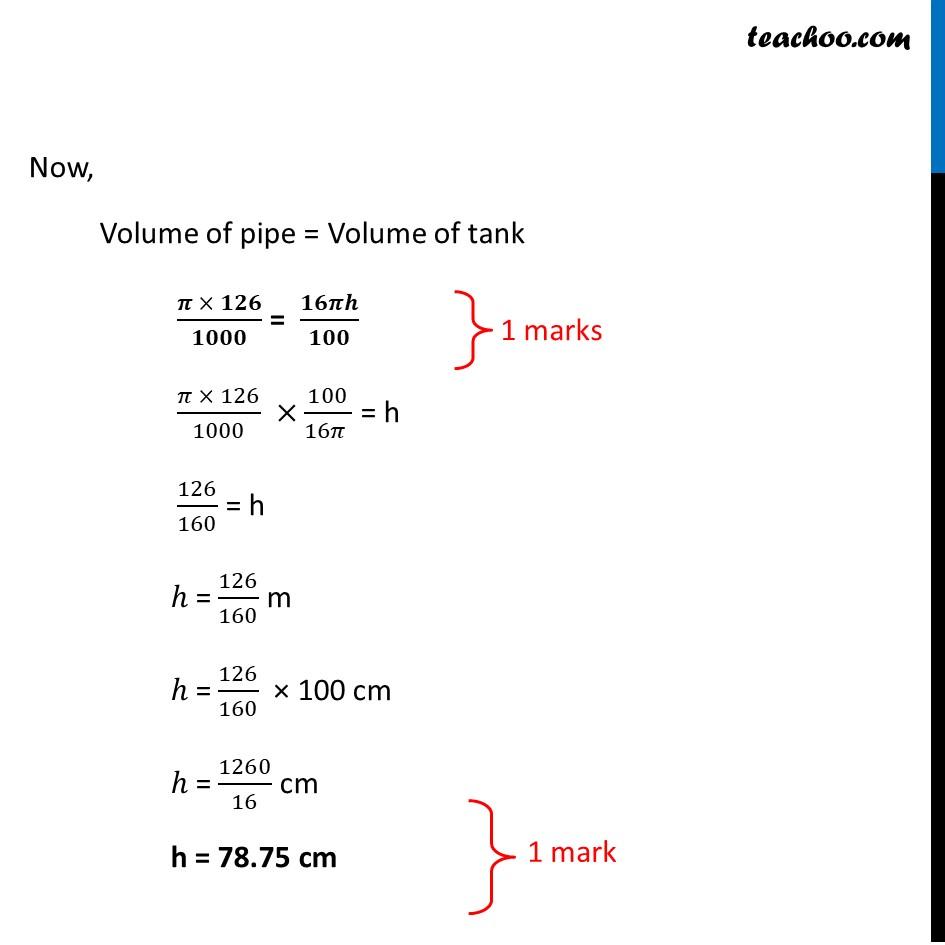 Question 35 - CBSE Class 10 Sample Paper for 2021 Boards - Maths Standard - Part 5