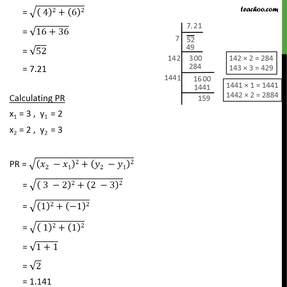 Example 1 - Chapter 7 Class 10 Coordinate Geometry - Part 3