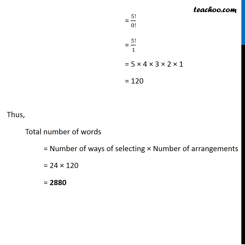 Example 20 - Chapter 7 Class 11 Permutations and Combinations - Part 3