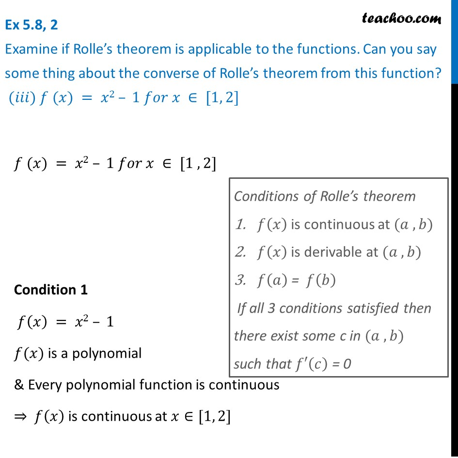 Ex 5.8, 2 - Chapter 5 Class 12 Continuity and Differentiability - Part 3