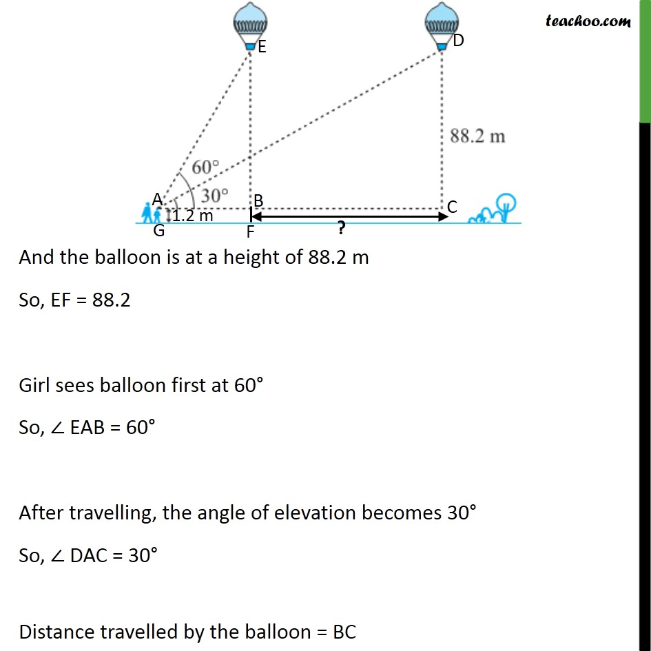 Ex 9.1, 14 - Chapter 9 Class 10 Some Applications of Trigonometry - Part 2