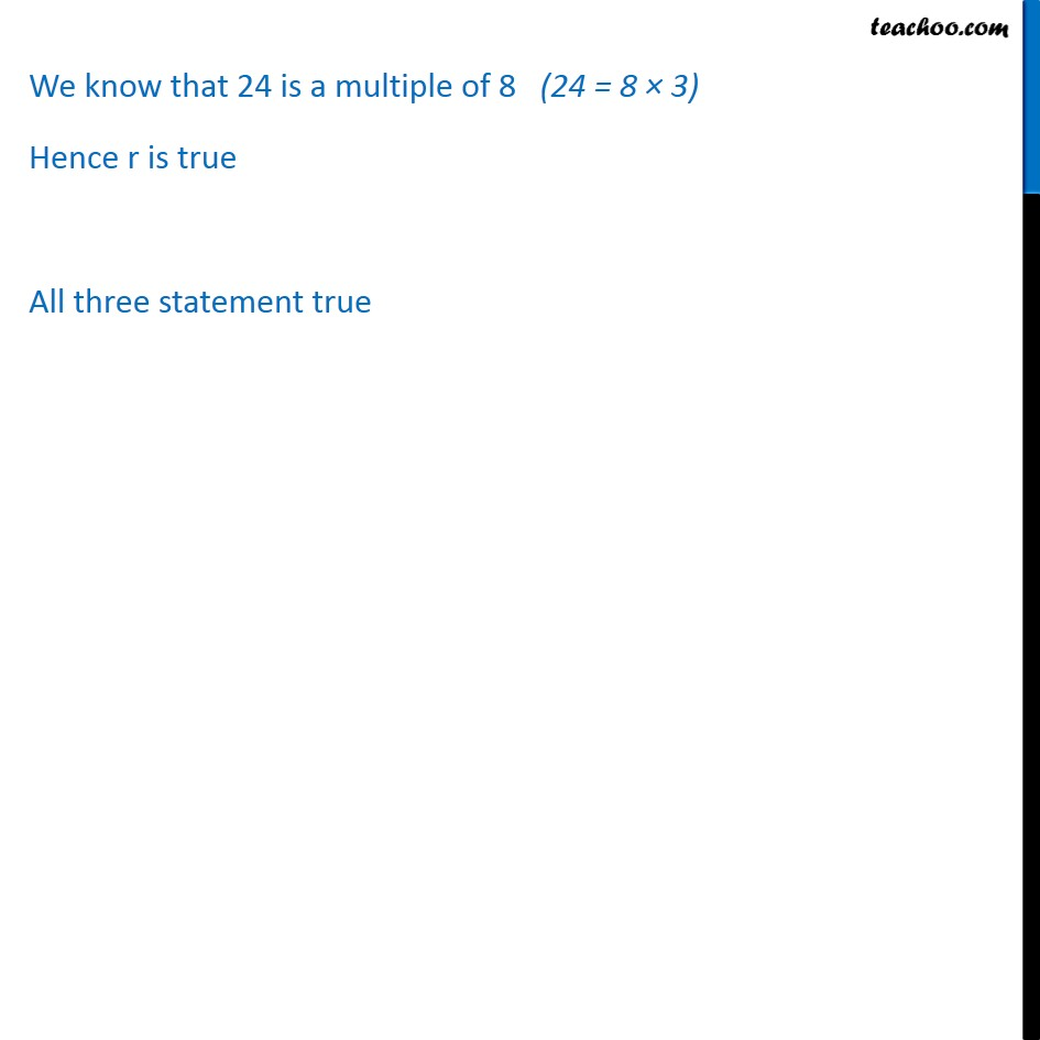 Example 5  - Chapter 14 Class 11 Mathematical Reasoning - Part 7