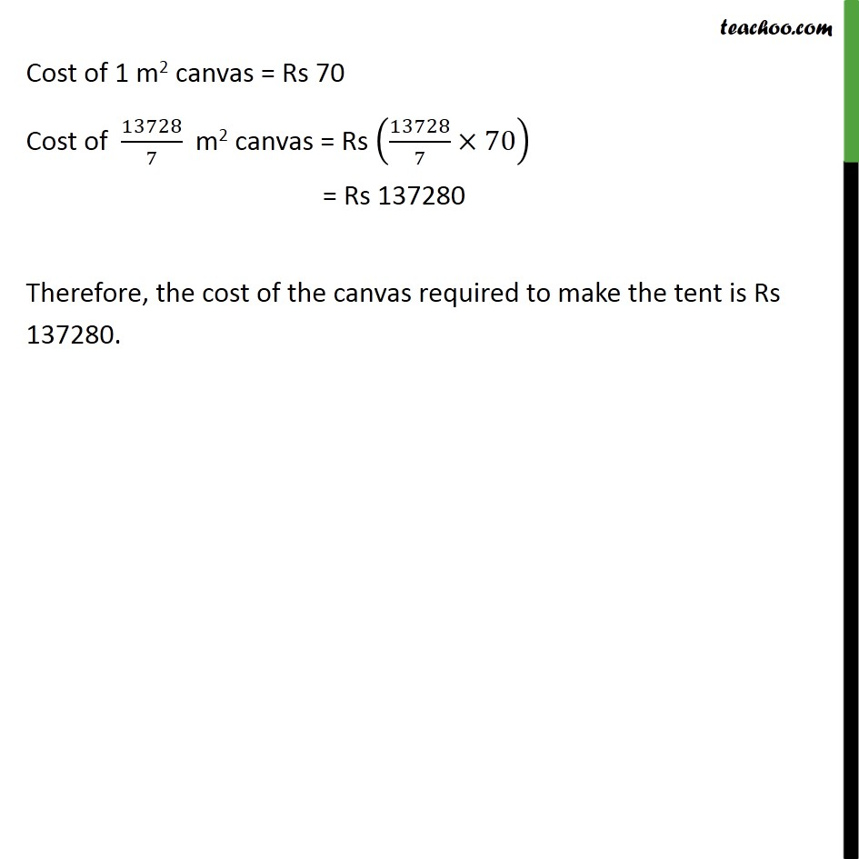 Ex 13.3, 4 - Chapter 13 Class 9 Surface Areas and Volumes - Part 3