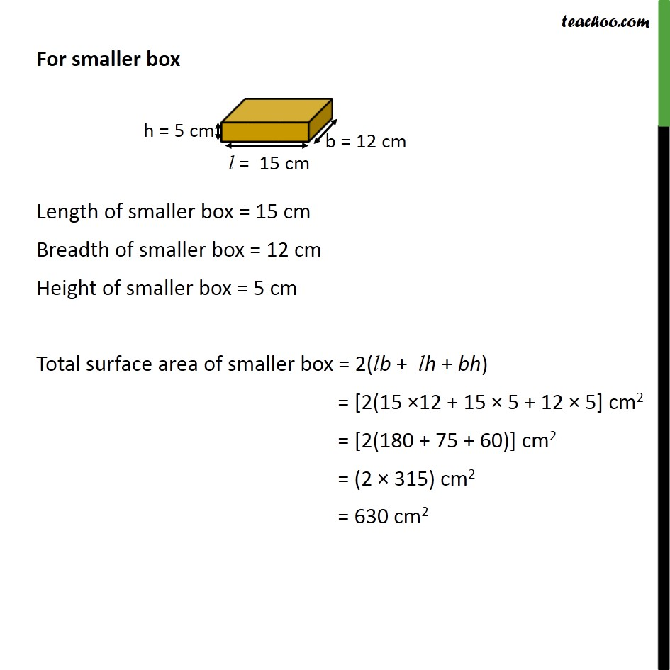 Ex 13.1, 7 - Chapter 13 Class 9 Surface Areas and Volumes - Part 3