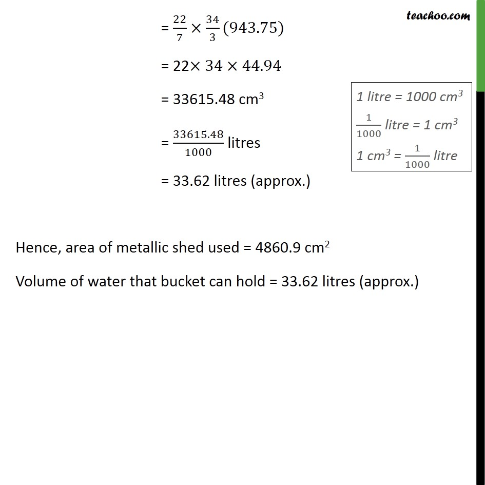 Example 14 - Chapter 13 Class 10 Surface Areas and Volumes - Part 7