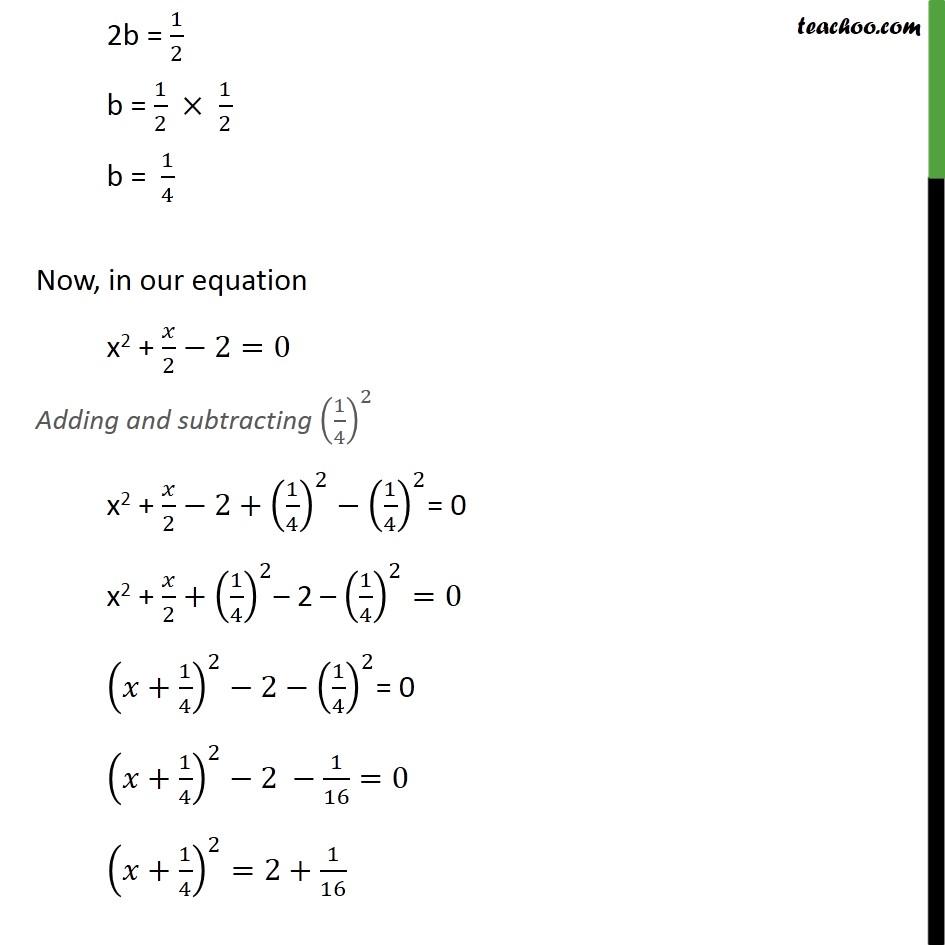 Ex 4.3, 1 (ii) - Chapter 4 Class 10 Quadratic Equations - Part 2