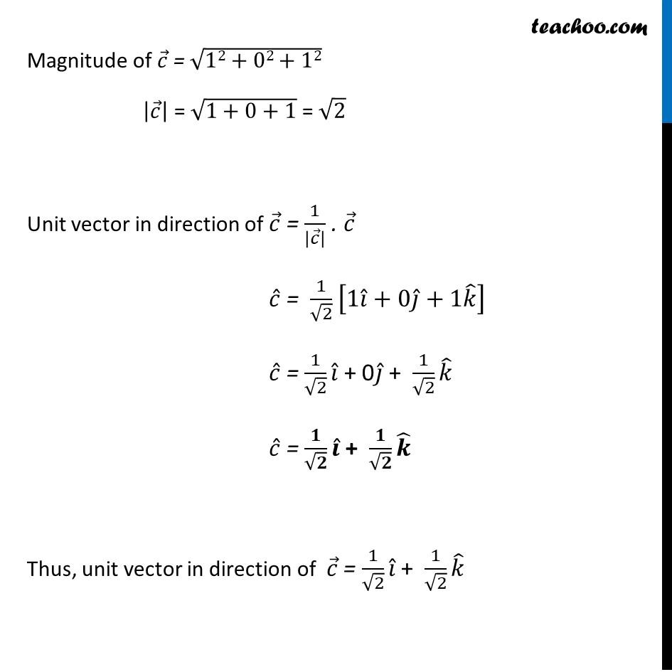 Ex 10.2, 9 - Chapter 10 Class 12 Vector Algebra - Part 2