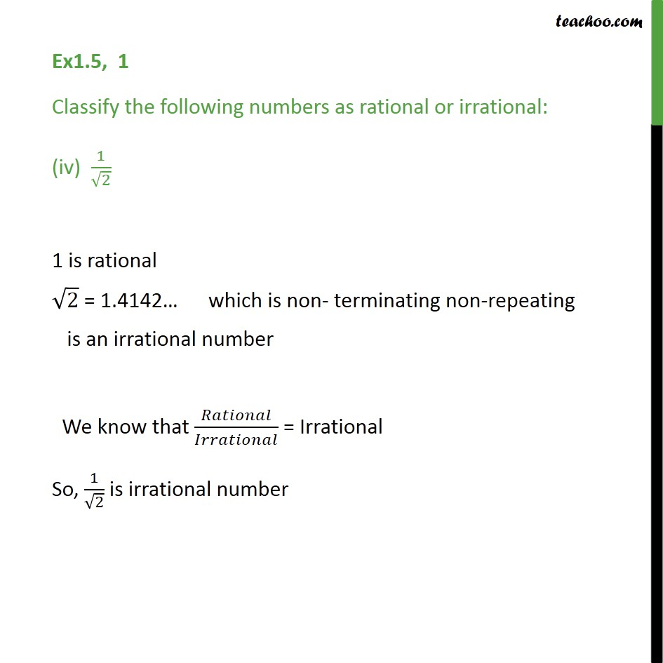 Ex 1.5,1 - Chapter 1 Class 9 Number Systems - Part 4