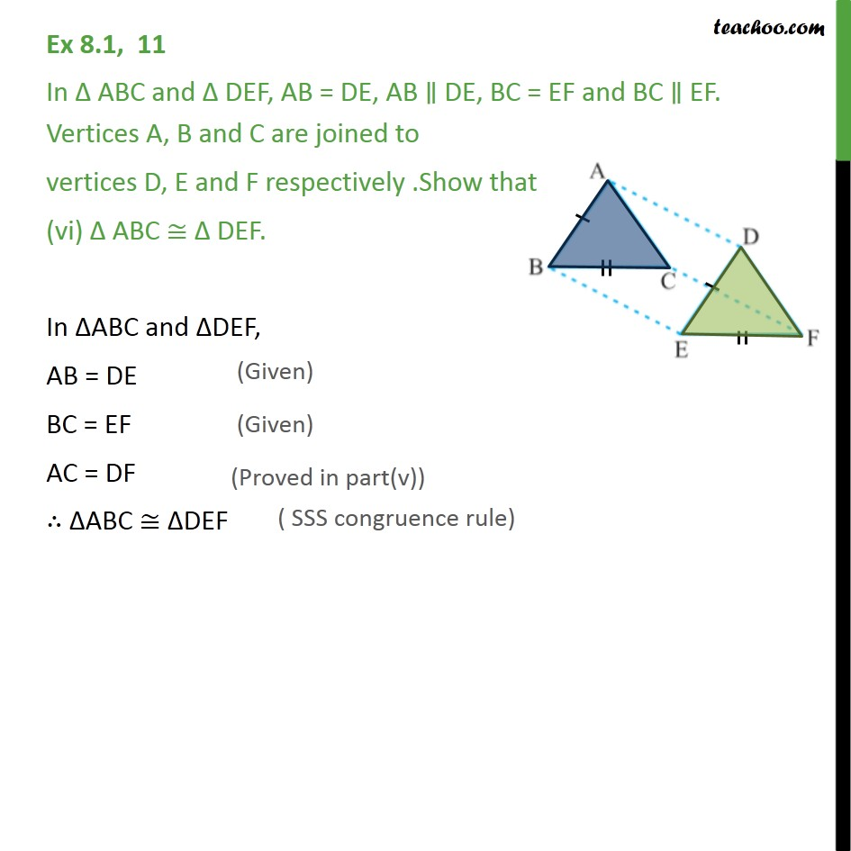 Ex 8.1, 11 - Chapter 8 Class 9 Quadrilaterals - Part 6