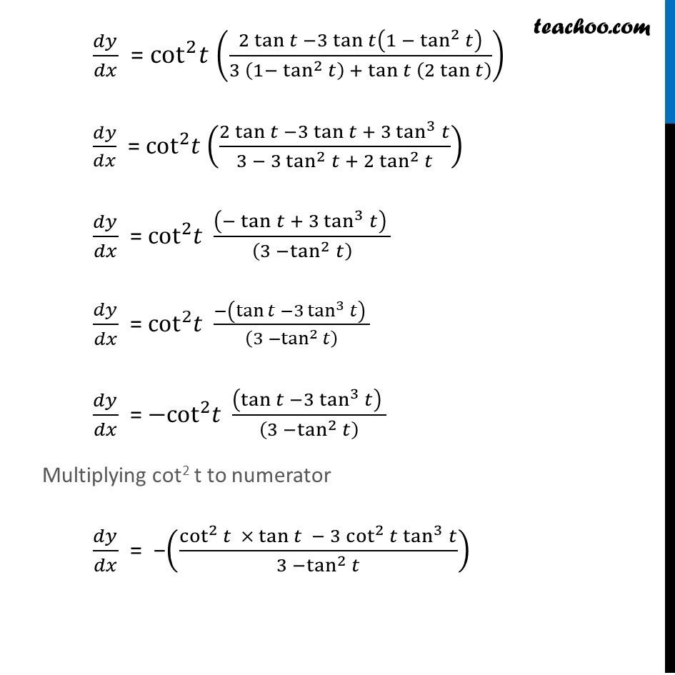 Ex 5.6, 7 - Chapter 5 Class 12 Continuity and Differentiability - Part 8