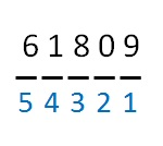 Is 61809 divisible by 11?