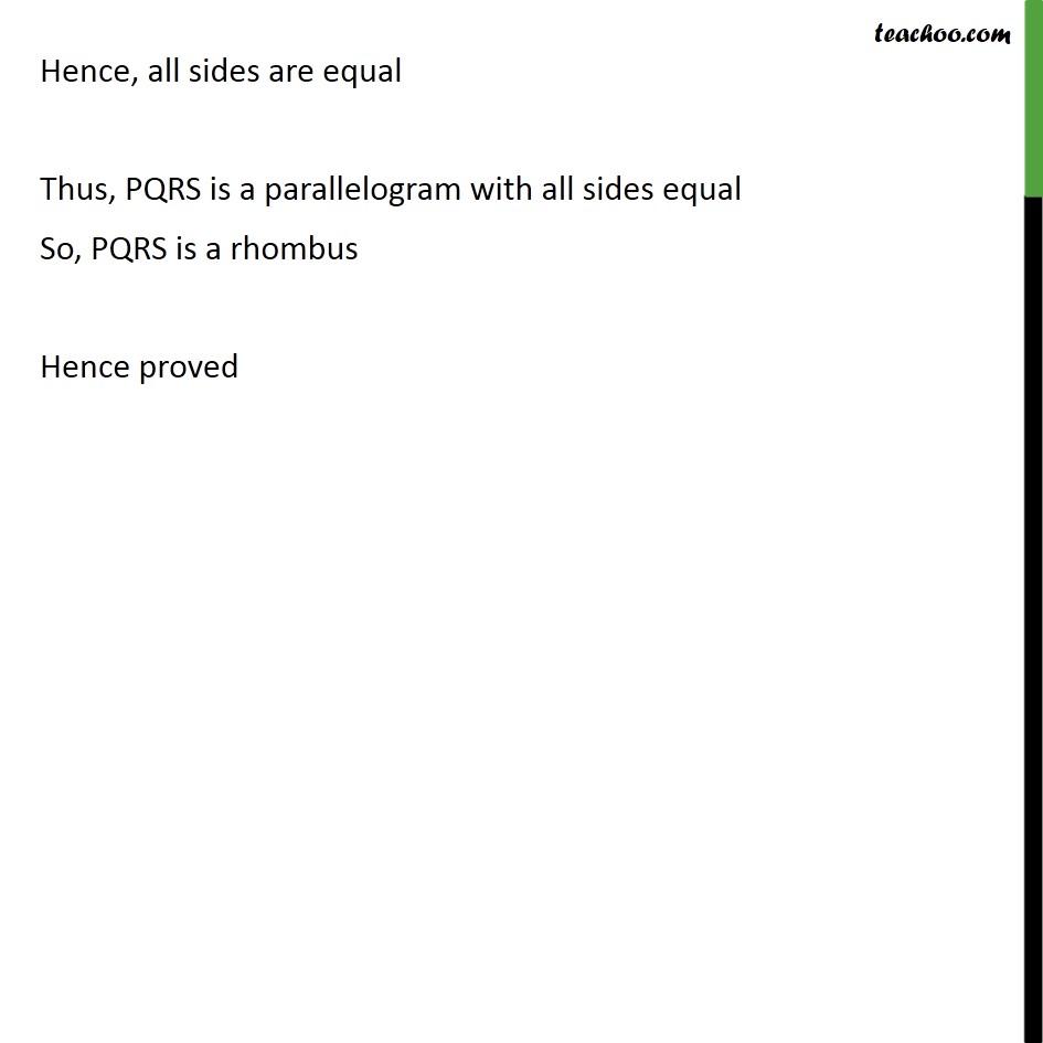 Ex 8.2, 3 - Chapter 8 Class 9 Quadrilaterals - Part 4
