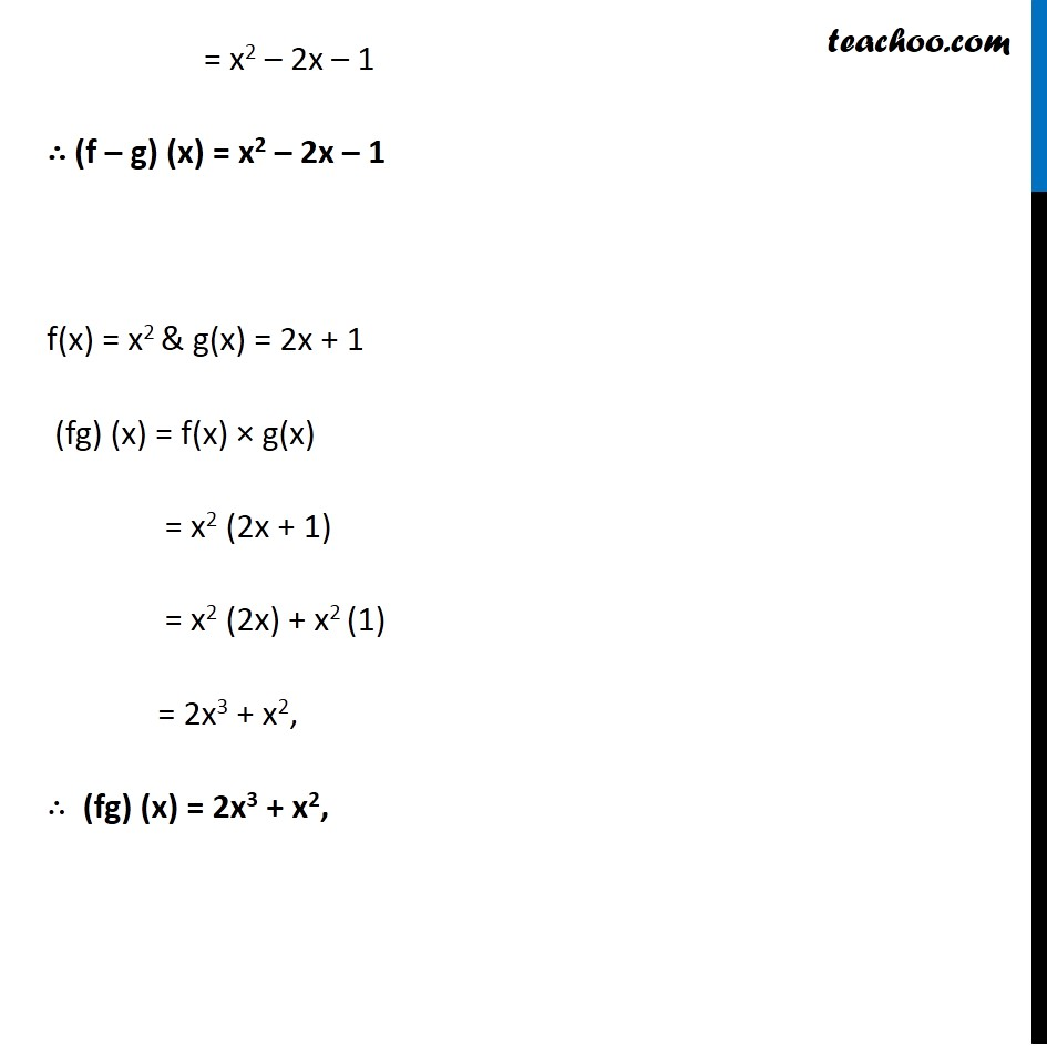 Example 16 - Chapter 2 Class 11 Relations and Functions - Part 2