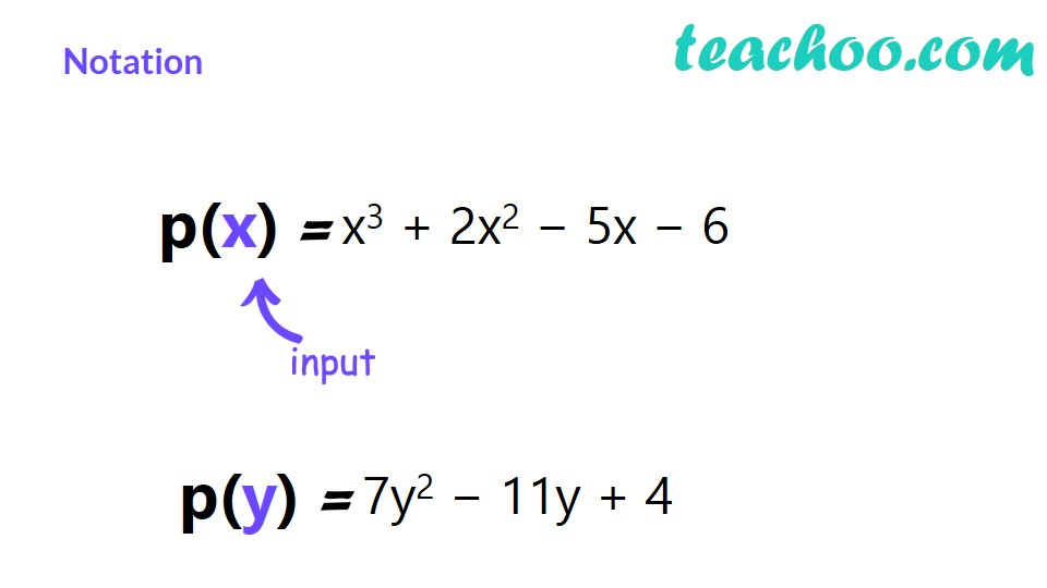 Division Algorithm for Polynomials - Explanation with Example - Teacho