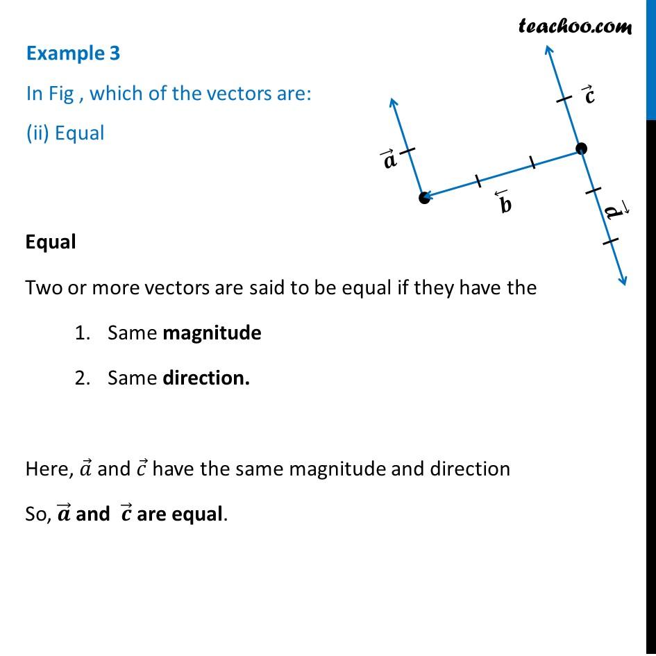 Example 3 - Chapter 10 Class 12 Vector Algebra - Part 2
