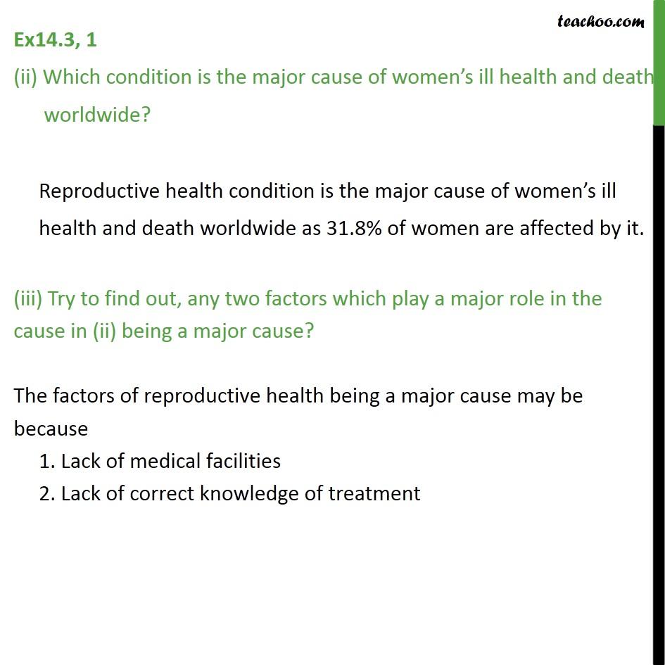 Ex 14.3, 1 - Chapter 14 Class 9 Statistics - Part 3
