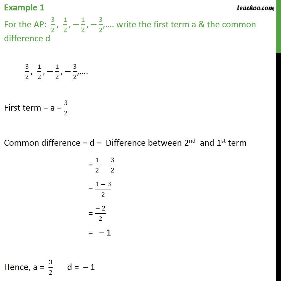 example 1 for the ap 3 2 1 2 1 2 3 2 write examples