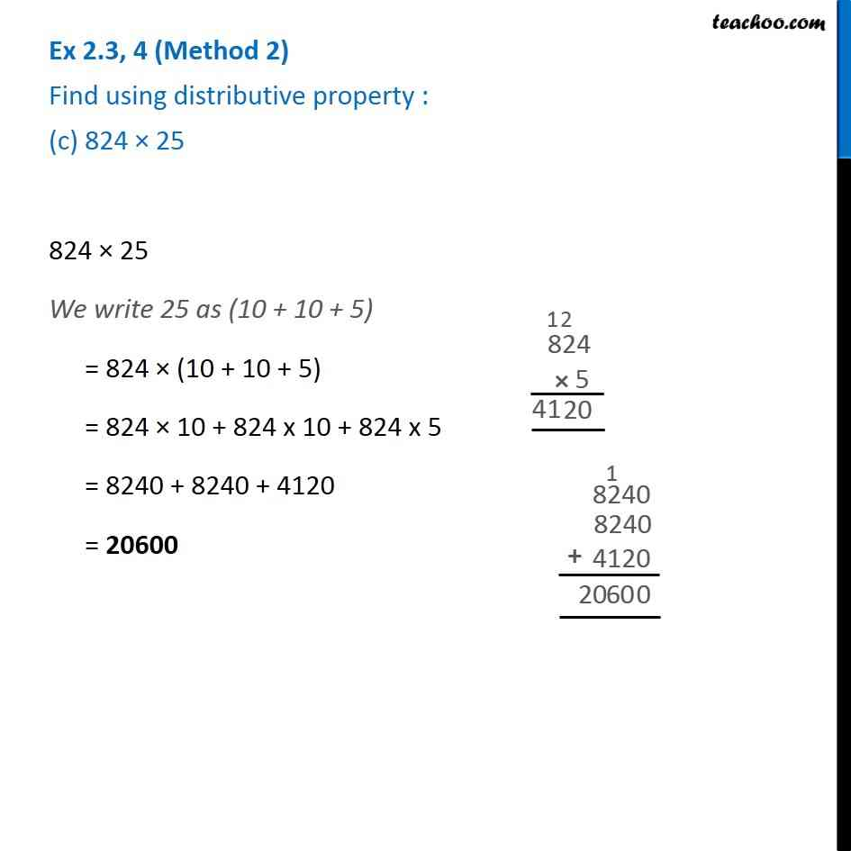 Ex 2.3, 4 - Chapter 2 Class 6 Whole Numbers - Part 4
