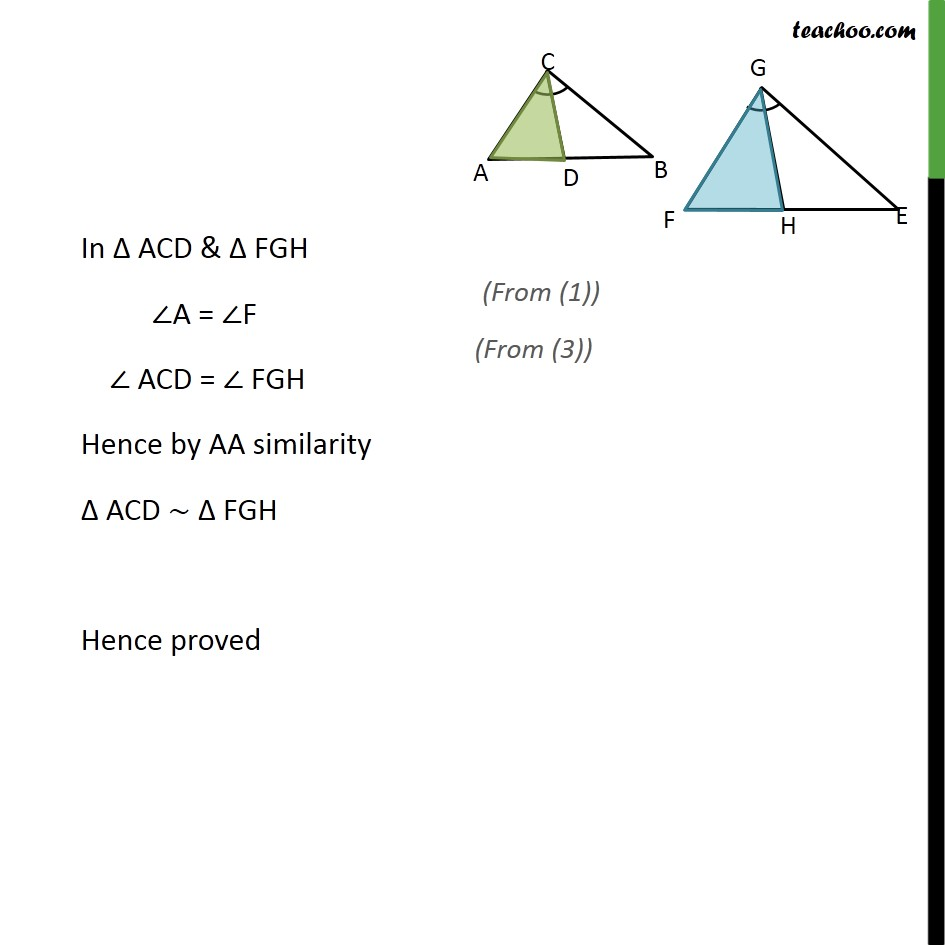 Ex 6.3, 10 - Chapter 6 Class 10 Triangles - Part 7