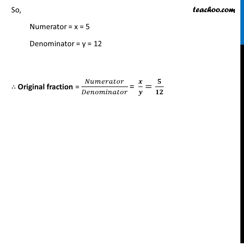 Ex 3.5, 4 (ii) - Chapter 3 Class 10 Pair of Linear Equations in Two Variables - Part 5