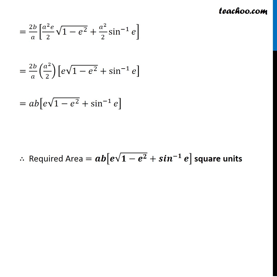 Example 5 - Chapter 8 Class 12 Application of Integrals - Part 4