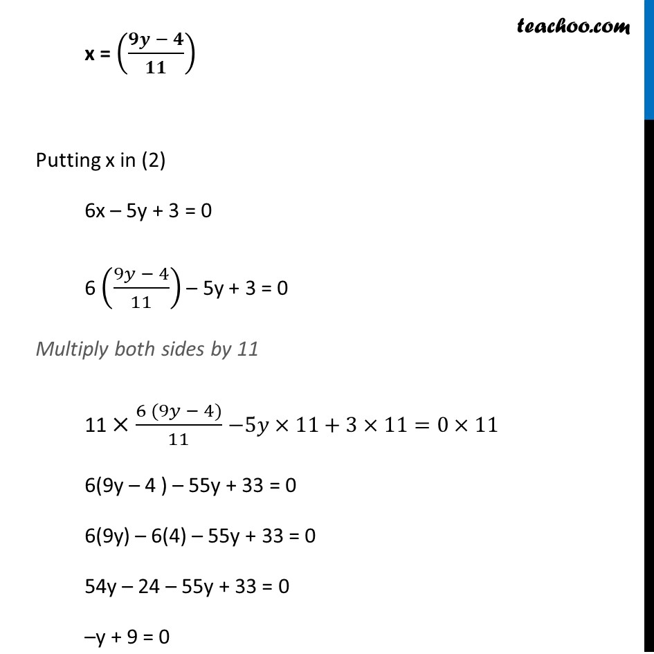 Ex 3.3, 3 (v) - Chapter 3 Class 10 Pair of Linear Equations in Two Variables - Part 4