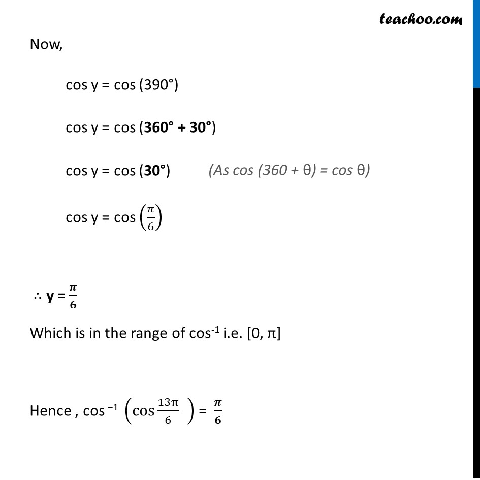 Misc. 1 - Chapter 2 Class 12 Inverse Trigonometric Functions - Part 2