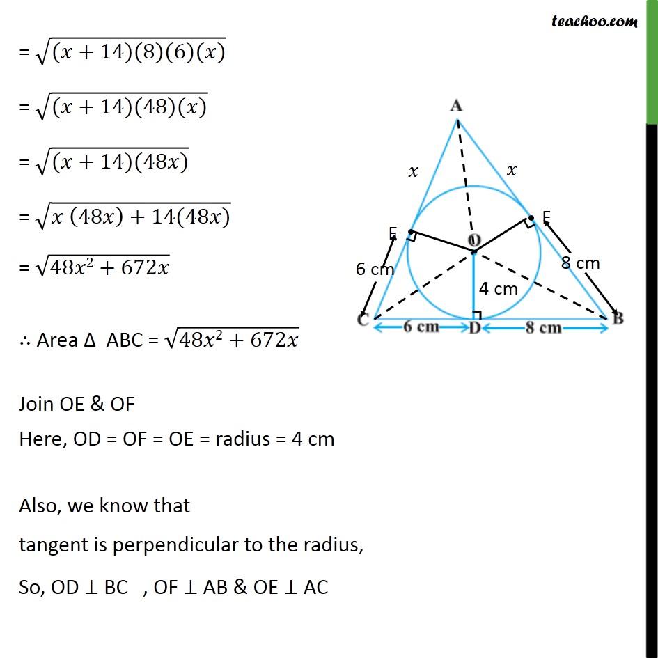 Ex 10.2, 12 - Chapter 10 Class 10 Circles - Part 4