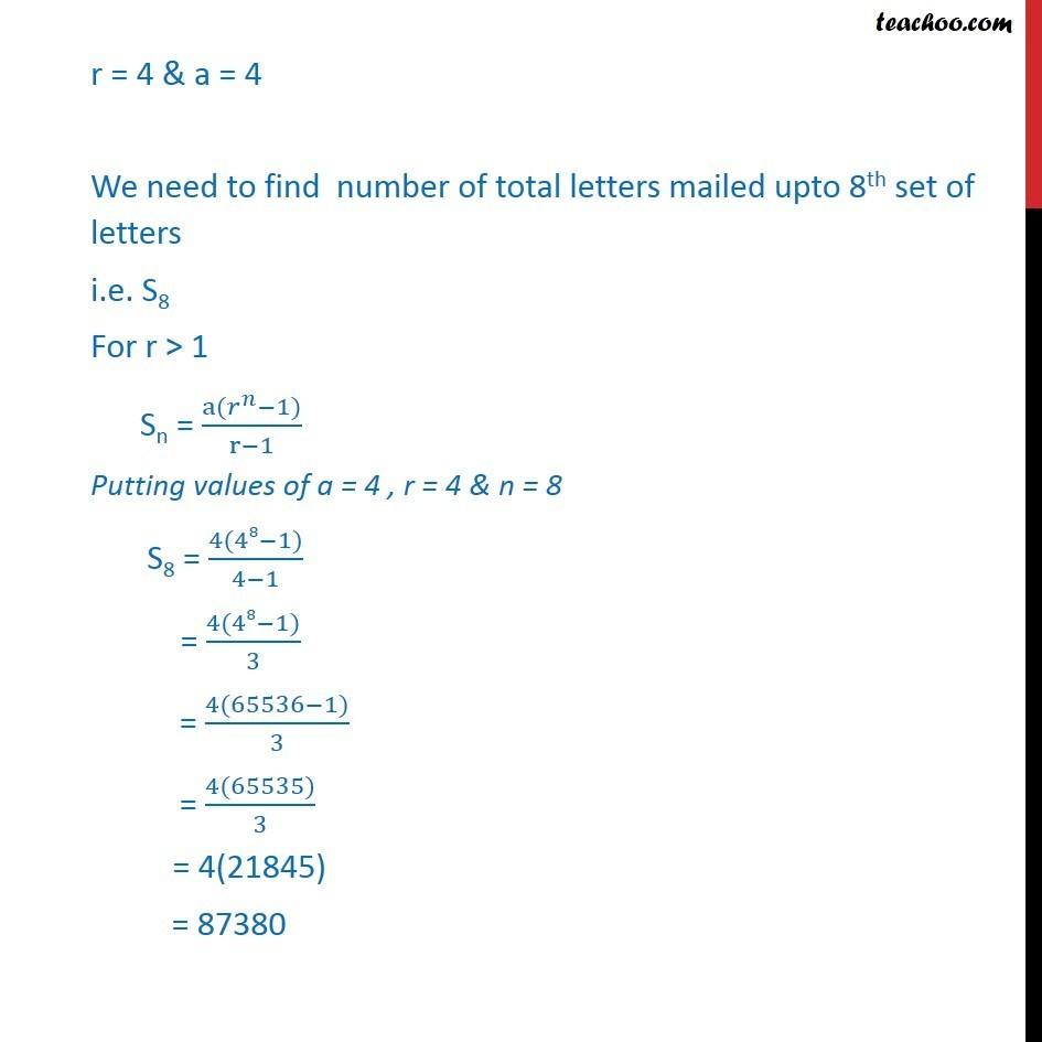 Misc 29 - Chapter 9 Class 11 Sequences and Series - Part 2