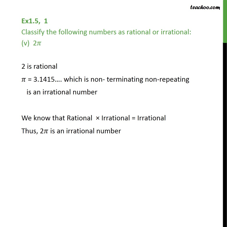 Ex 1.5,1 - Chapter 1 Class 9 Number Systems - Part 5