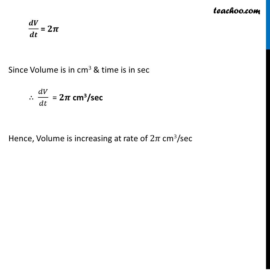 Ex 6.1,12 - Chapter 6 Class 12 Application of Derivatives - Part 4