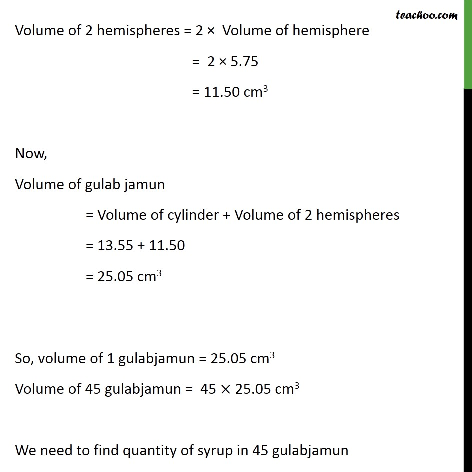 Ex 13.2, 3 - Chapter 13 Class 10 Surface Areas and Volumes - Part 4