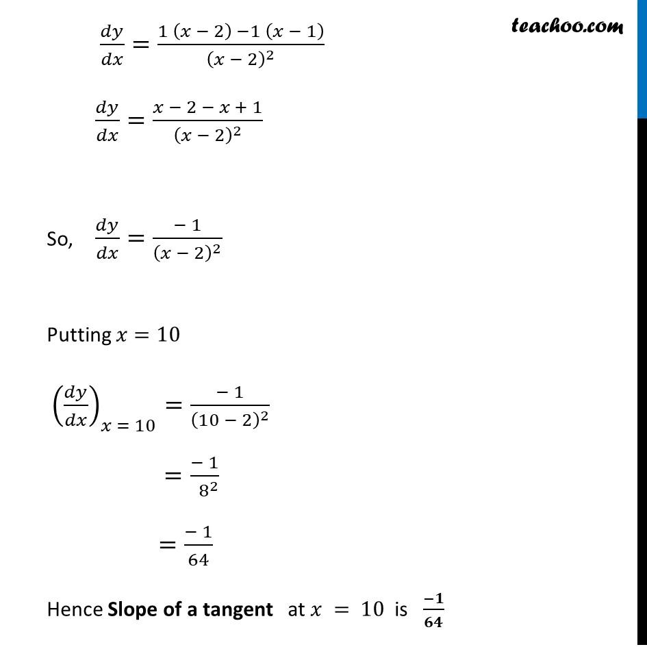 Ex 6.3,2 - Chapter 6 Class 12 Application of Derivatives - Part 2