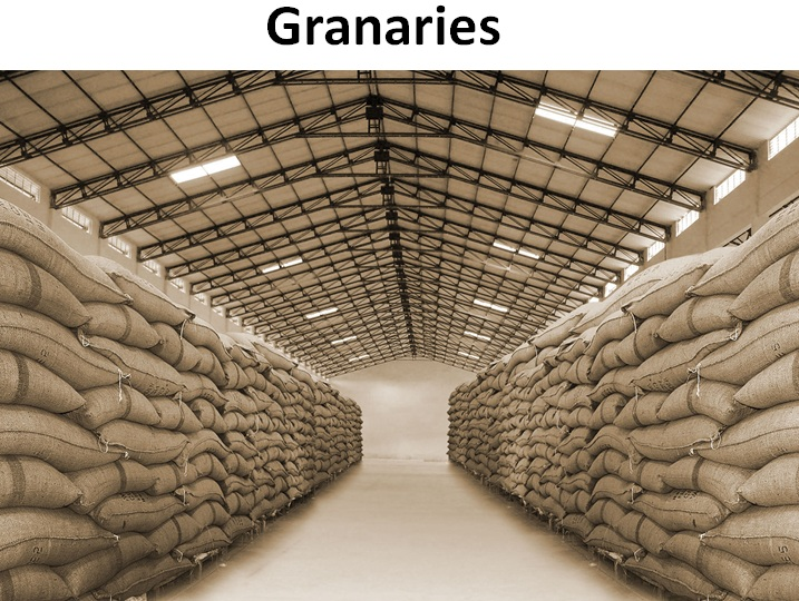 Image result for storage of bags of grains