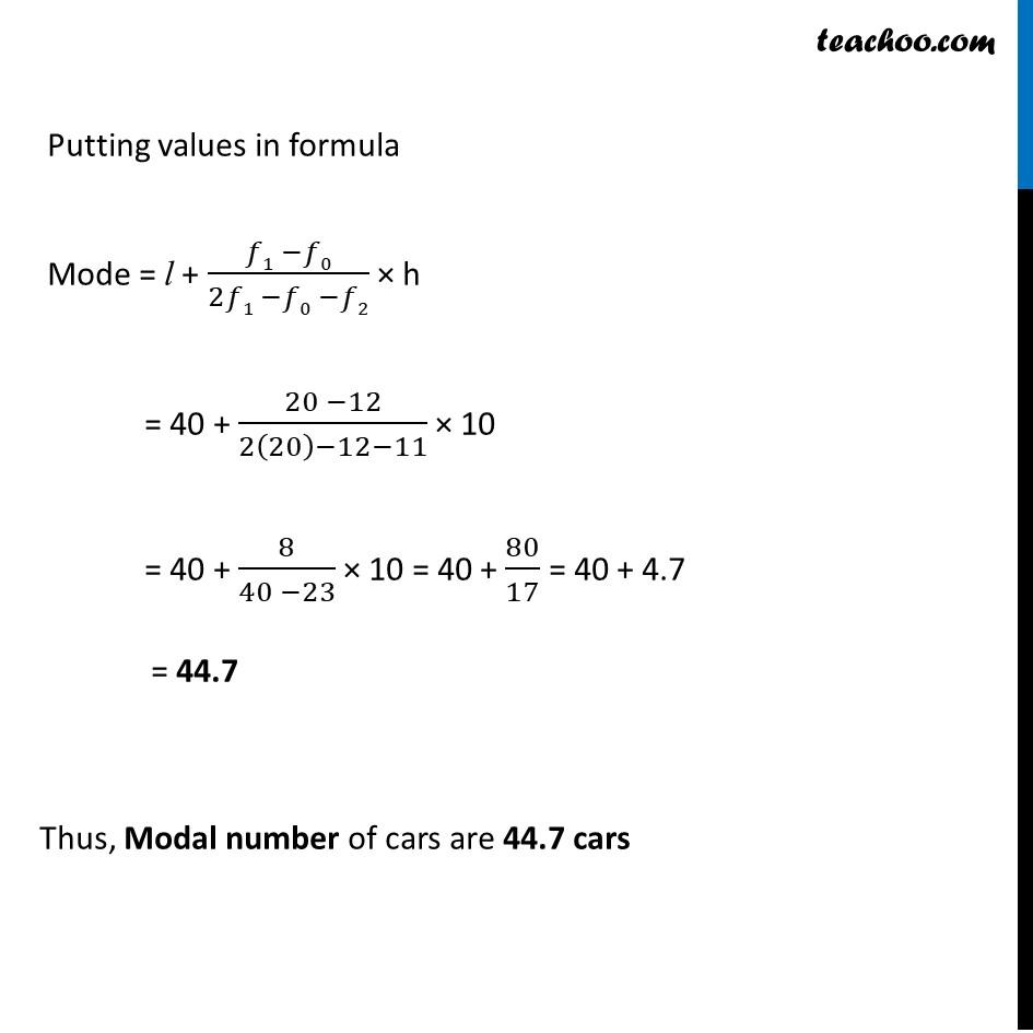 Ex 14.2, 6 - Chapter 14 Class 10 Statistics - Part 2