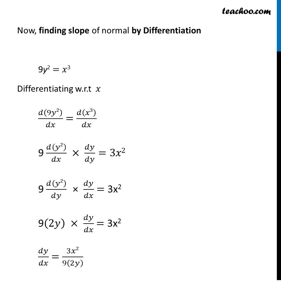 Misc 24 - Chapter 6 Class 12 Application of Derivatives - Part 2