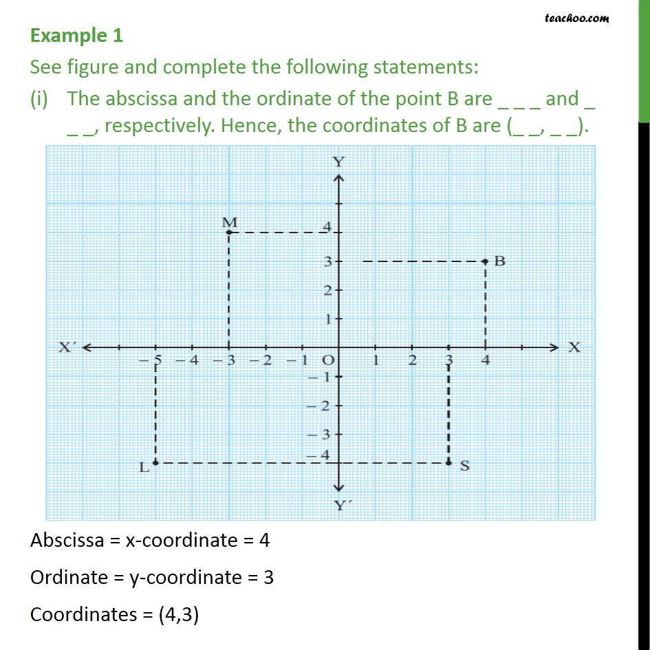 Example 1 - See figure & complete following statements - Examples