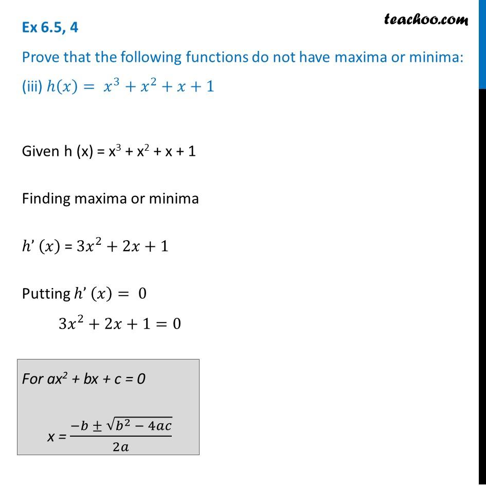 Ex 6.5,4 - Chapter 6 Class 12 Application of Derivatives - Part 3