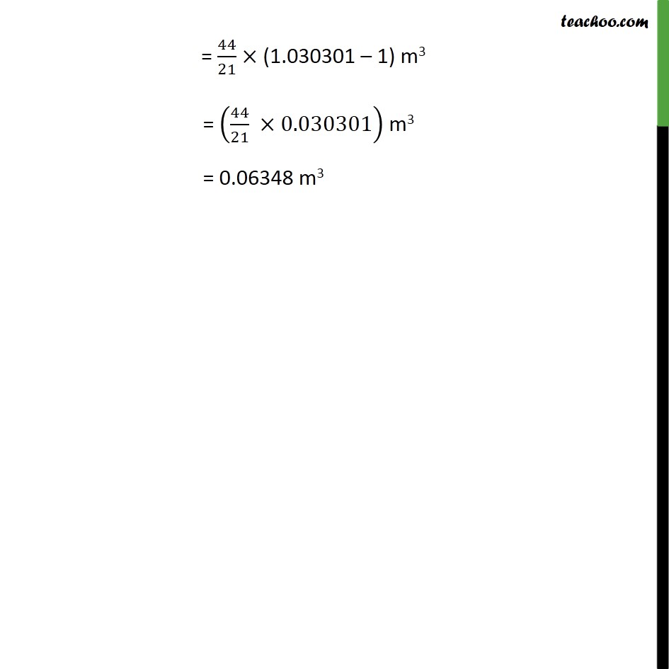 Ex 13.8, 6 - Chapter 13 Class 9 Surface Areas and Volumes - Part 2
