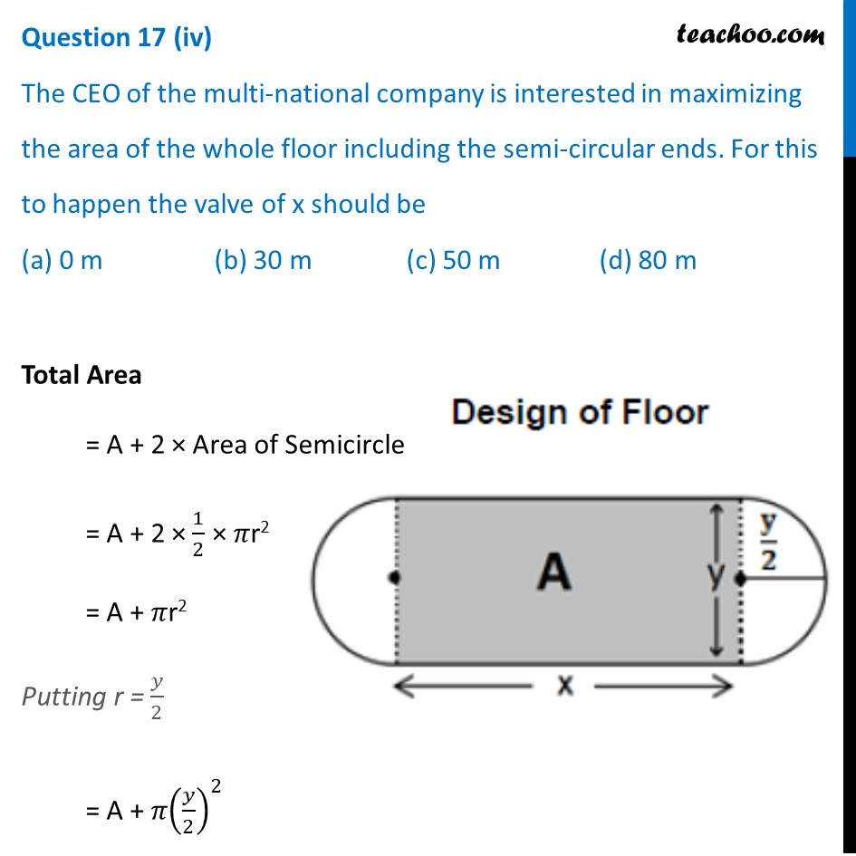 Question 17 - CBSE Class 12 Sample Paper for 2021 Boards - Part 8