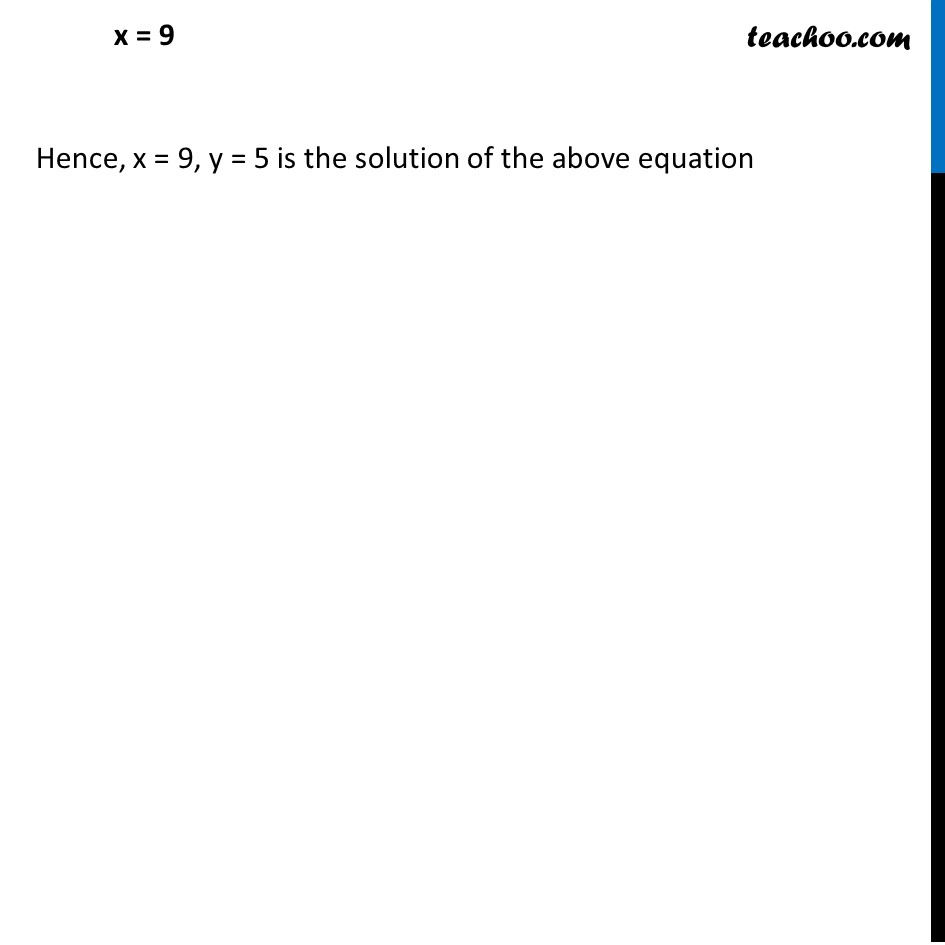 Ex 3.3, 1 - Chapter 3 Class 10 Pair of Linear Equations in Two Variables - Part 3