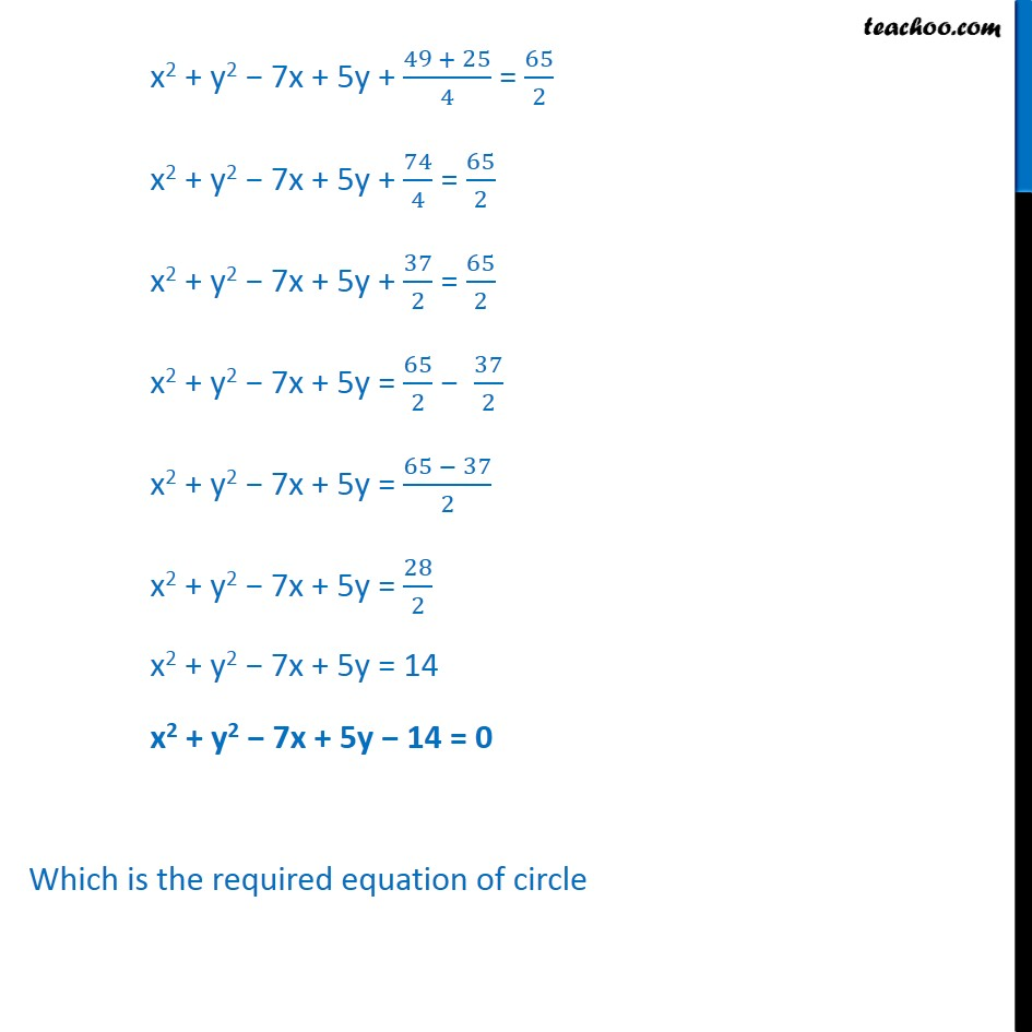 Ex 11.1,  11 - Chapter 11 Class 11 Conic Sections - Part 7