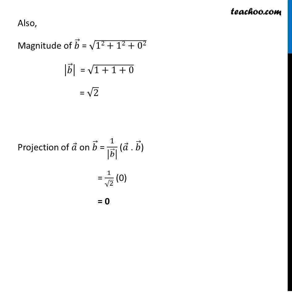 Ex 10.3, 3 - Chapter 10 Class 12 Vector Algebra - Part 2