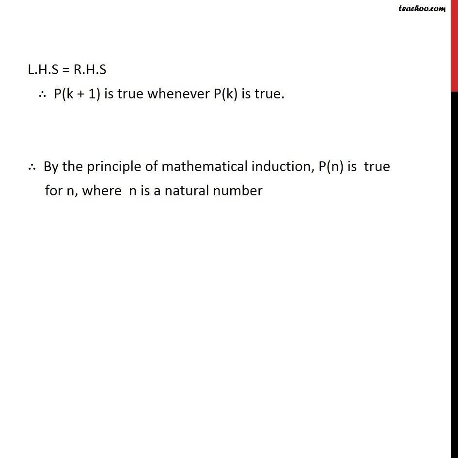 Ex 4.1, 9 - Chapter 4 Class 11 Mathematical Induction - Part 4