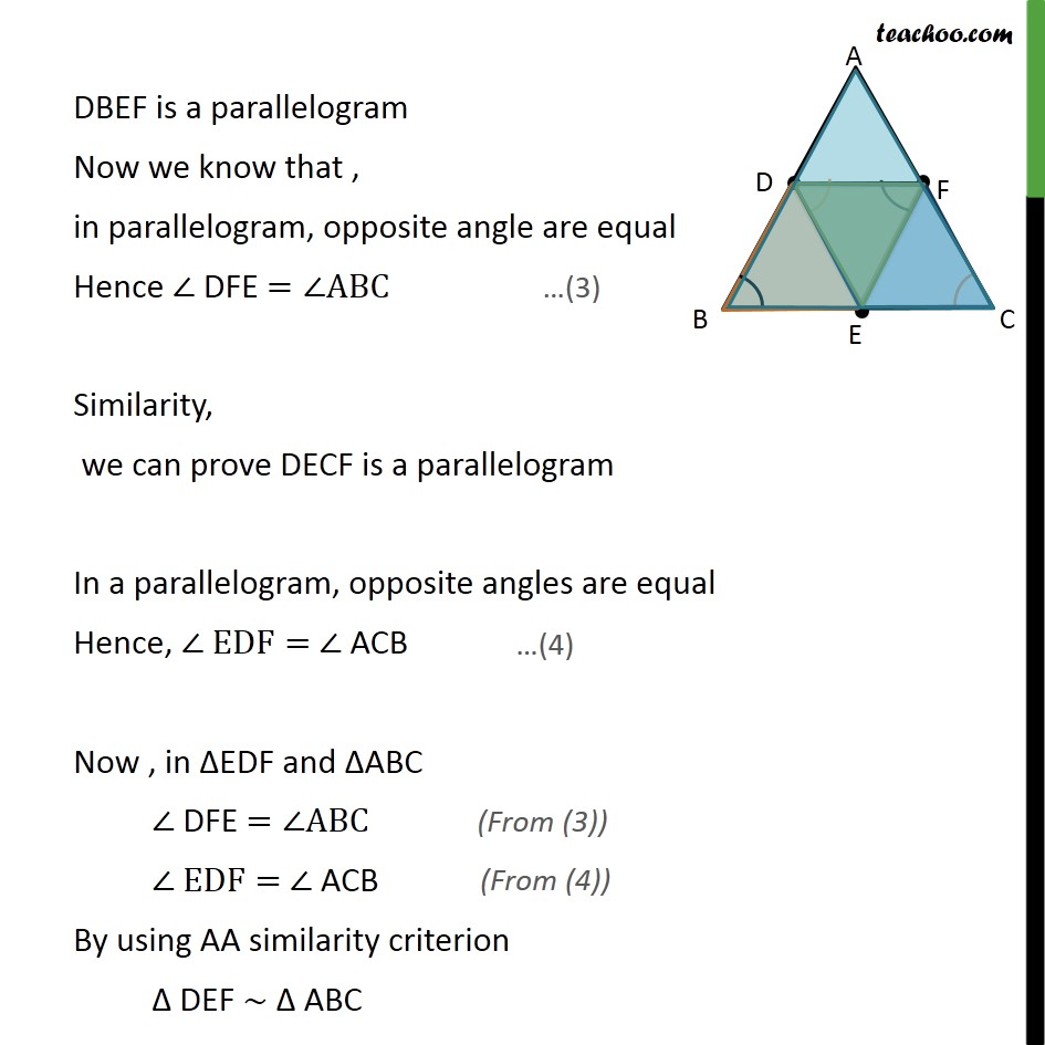 Ex 6.4, 5 - Chapter 6 Class 10 Triangles - Part 3